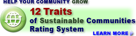 GreeningUSA's 12 Traits Rating System: The most comprehensive community rating system in the U.S.