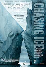 Chasing Ice documentary video cover graphic